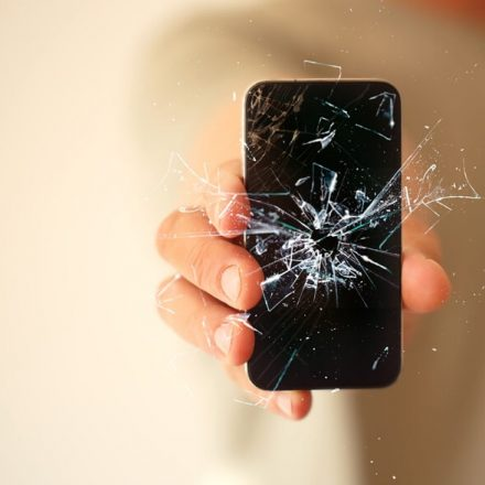 Tela de iPhone