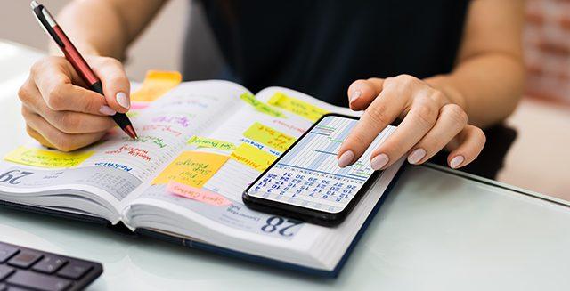 Como definir lembretes telefônicos para qualquer coisa
